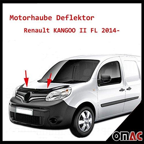 OMAC Motorhaube Deflektor Insekten Renault KANGOO II FL 2014-