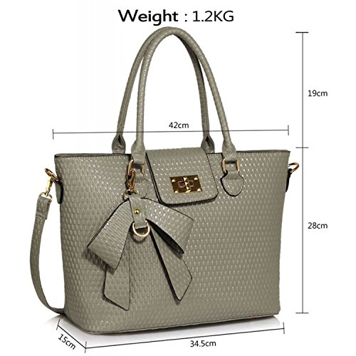 Xardi London, Borsa tote donna Grey