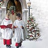 Tarjeta de Navidad Musical. El coro por Jonny jabalina. Tarjeta de felicitación abierto y escuchar 15-20 segundos deuna vez en real David ciudad por Chichester Cathedral choir.