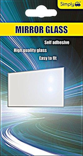 Preisvergleich Produktbild Einfach VM01 Kosmetikspiegel Glas, 150 x 80 mm