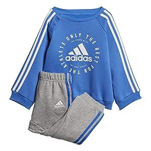 adidas Herren Fleece 3-Streifen Jogginganzug