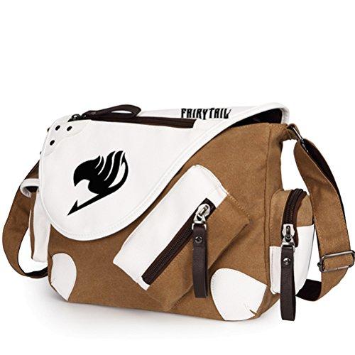 Yoyoshome giapponese anime Cosplay zaino Zaino messenger bag borsa a tracolla nero Fullmetal Alchemist Fairy Tail2