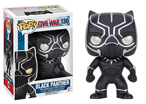 Funko Pop Black Panther (Capitan América: Civil War – Marvel 130) Funko Pop Black Panther