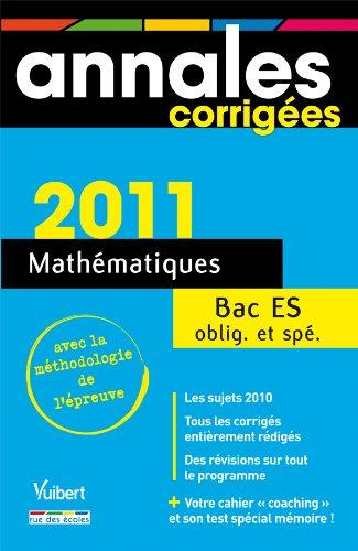 Mathématiques Bac ES obligatoire et spécialité par Jean-Marc Ravier, Hervé Fant