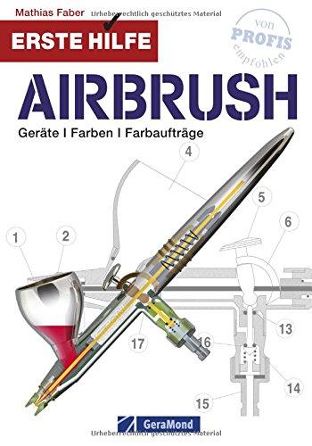 Airbrush Modellbau und Modellbahn: Geräte, Farben und Farbaufträge. Erste Hilfe für Modellbauer...