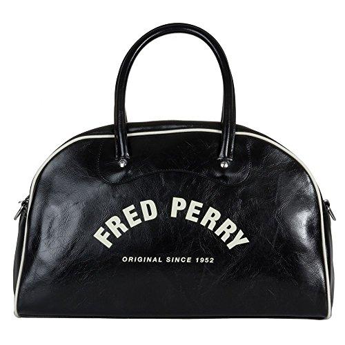 Fred Perry Classic Grip Herren Sport- Und Reisetasche Schwarz