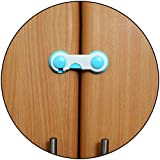 Safe-O-Kid - Pack of 1 - Easy to Use, Durable, Colorful Child Proof Cabinet Lock