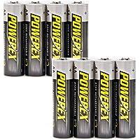 ELV confezione da 8 Powerex batterie ricaricabili AA, NiMH, 2700 mAh