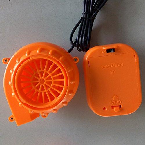 Preisvergleich Produktbild KKOP 6 V Mini Gebläse Lüfter Kompressor Kostüm Compact Air Fan Gebläse Pumpe für Puppe Maskottchen Kopf inflatabletoy Kostüm,  Orange,  Free Size