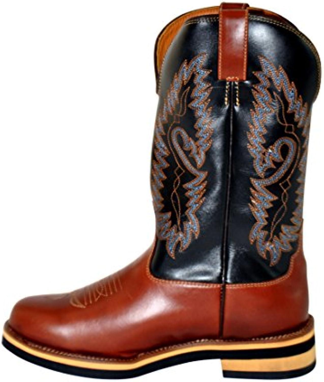 HKM – Botas de Texas Western Western Softy Cow de