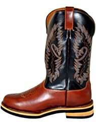 HKM Texas Western Western Bottes – Softy Cow de