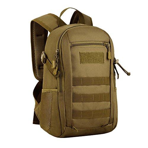 b7bde3d670 MagiDeal 12L Mini Daypack Molle Zaino Borsa da Campeggio Caccia Militare Viaggio  per Donna Uomo -