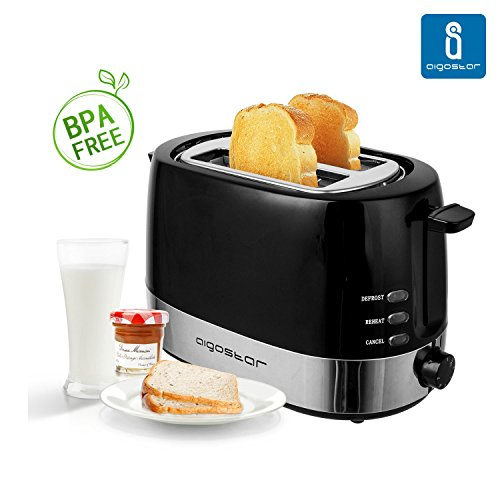 Aigostar Brotchen Black 30HIL 850W