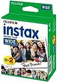 Fujifilm Film Instax Wide 99 x 62 mm - Compatible Appareil Instax Wide uniquement - Bipack 10 x 2 films