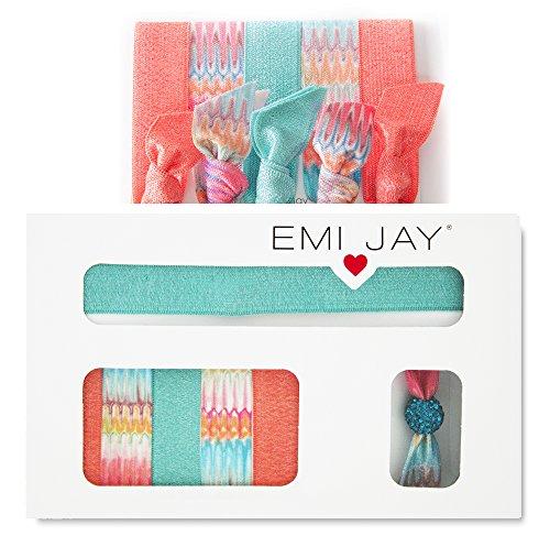 emi-jay-set-regalo-con-elastici-e-fermacapelli-motivo-a-spina-di-pesce