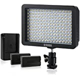 ESDDI 160 LED Dimmable Digitalkamera / Camcorder Video Licht Panel für Canon, Nikon, Pentax, Panasonic, Sony, Olympus Digital SLR Kameras