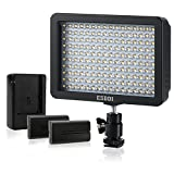ESDDI 160 LED Dimmable Digitalkamera / Camcorder Video Licht Panel für Canon, Nikon, Pentax, Panasonic, Sony, Olympus Digital SLR Kameras
