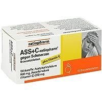 ASS + C-ratiopharm Brausetabletten, 10 St. preisvergleich bei billige-tabletten.eu