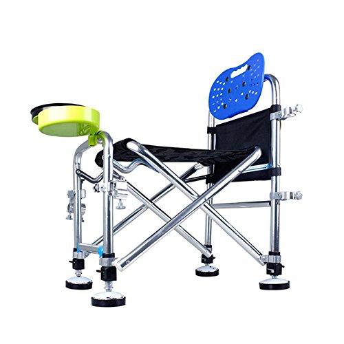 TSJT Chaise de pêche, fauteuil de bras extérieur Tabouret léger portatif pliable pour picnic Barbecue Sketch Fishing , B