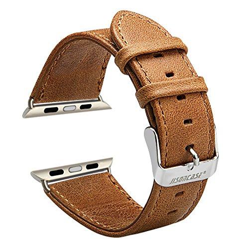watch-band-jisoncaser-classic-42-mm-cinturino-in-pelle-vera-con-free-adattatori-in-acciaio-inox-fibb