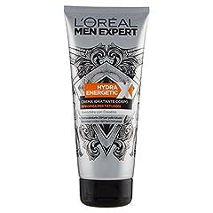 Idea Regalo - L'Oréal Paris Men Expert Crema Corpo Uomo Hydra Energetic X Crema Specifica per Tatuaggi, 200 ml