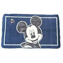 Disney Mickey Mouse Alfombra de baño (50x 85cm Azul