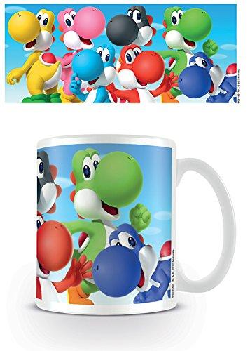 Super Mario Yoshi Tasse Standard (Yoshi Und Mario)