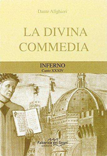 Divina Commedia. Inferno canto 34°