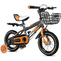 ZCRFY Bicicleta para Niños Estudiante Pequeños Niñas Bebé Ajustables Masculino Y Femenino Seguro Cómodo Regalo De