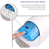 Hotel Wall-mounted Hair Dryer Hang Wall Blower Electric Hair Dryer Cylinder