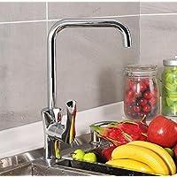 Moderno/contemporaneo lusso elegante cucina rubinetti migliori commerciale moderno maniglia singolo lavello rubinetto miscelatore lavabo Toccare Finitura cromata