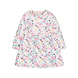 Mothercare Girl's Floral Dress Short Sleeve, Pink, 6-9 Months (Manufacturer Size:74)