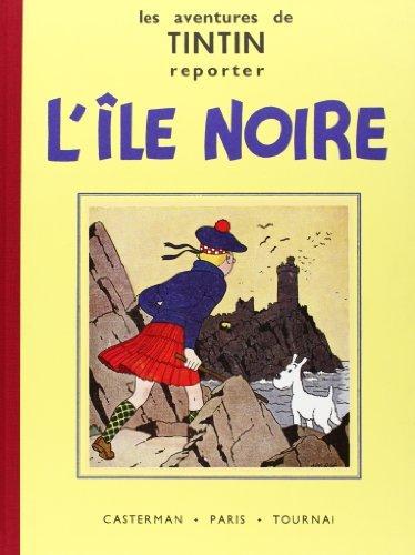 Les Aventures de Tintin : L'Ile Noire : Edition fac-simil?? en noir et blanc by Herg?? (1993-05-04)
