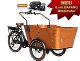 Elektro - Transportrad Cargo mit Mittelmotor