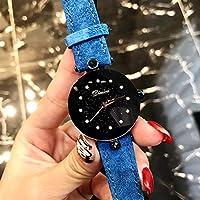 NICEWATCH Ladies Watch Fashion, Diamond Dial Scale, Sparkling Stars, Reloj para Mujer, Reloj de Cuarzo para Mujer.