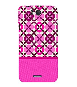 Rangoli Pattern 3D Hard Polycarbonate Designer Back Case Cover for InFocus M530