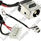 Laptop Parts UK (UK VAT Registered) Lenovo IdeaPad F31G DC Power Jack, Strombuchse, Buchse, Netzteilbuchse mit Kabel