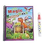 Zerodis- Album di Graffiti Riutilizzabile per Disegnare Doodle Magico per Bambini Libro da Colorare con Acqua con Pennarello Libro da Disegno Libri di Pittura Regalo per Bambini Ragazzi Ragazze (#1)
