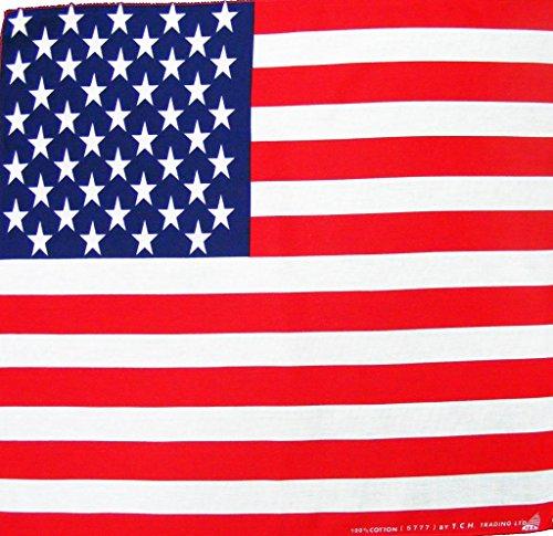 USA Flagge Amerika Vereinigte Staaten Kopftuch Bandana Halstuch