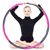 Foam Fitness Exercise Hula Hoop, lose weight, make thin waist, fitness exercise, Aerobic exercise, 6/7/8 sections parts assembled Hula Hoop
