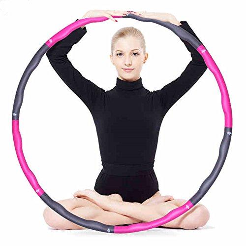 Hula-hoop in schiuma per fitness, esercizi per perdere di peso e ridurre il girovita, aerobica; da...