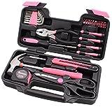CARTMAN General Werkzeug Set Technopro, Farben für Option, 39Pk-Pink, rose