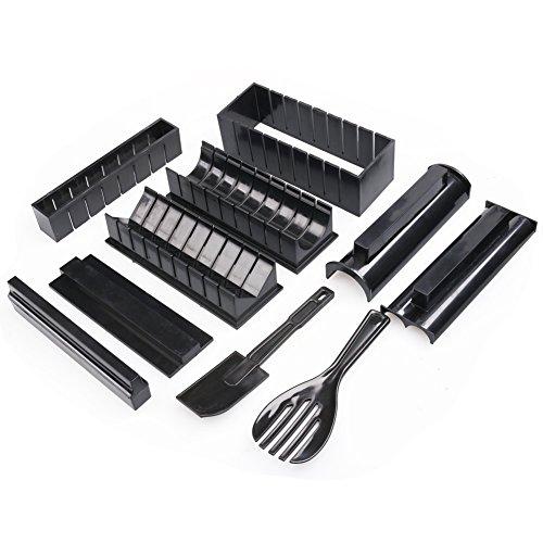 Sushi Maker Kit Completo, 10pezzi Casa Sushi Fare kit Fai