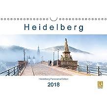Heidelberg 2018 (Wandkalender 2018 DIN A4 quer): Die romantische Stadt am Neckar im Panoramaformat (Monatskalender, 14 Seiten ) (CALVENDO Orte)