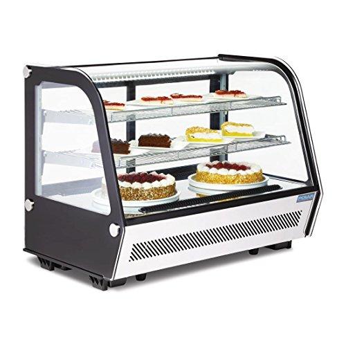 Kühlvitrine Kuchenvitrine Tischmodell 160L