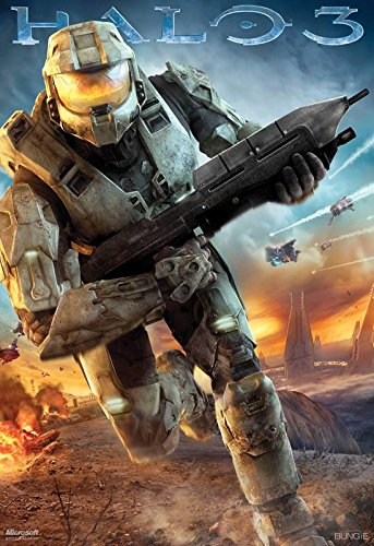 Halo 3 - Master Chief - U.S Video Game Wall Poster Print - 30CM X 43CM