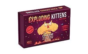 Exploding Kittens Paquete de Fiesta Juega (Gatitos Explosivos) con hasta 10 Jugadores!