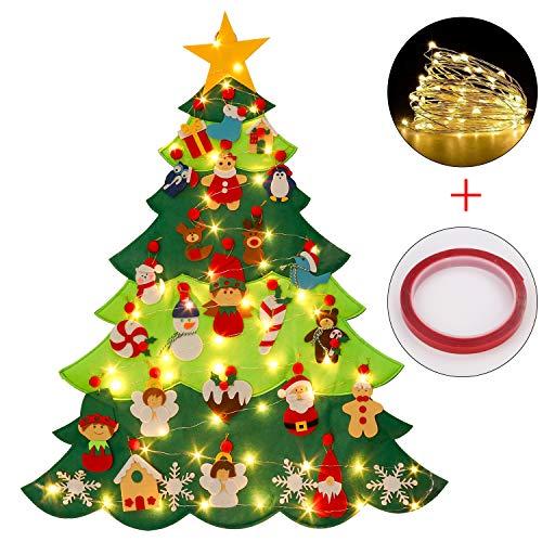 Outgeek Árbol de Fieltro de Navidad