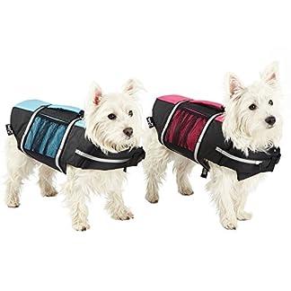 Bunty Dog Swimming Life Jacket Buoyancy Aid Float Vest Adjustable Water Pet – Blue – Large 51lypbOryrL