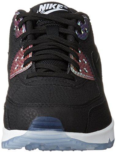 Nike 325213, Scarpe da Ginnastica Donna Nero (Black/Black-Pure Platinum-Black)